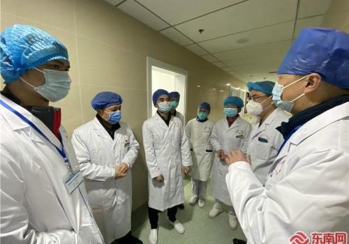 到岗!支援宜昌第二批队员正式进入宜昌市第三医院