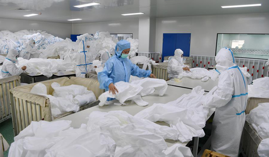 福建晋江:强化防疫防控 加紧复产复工