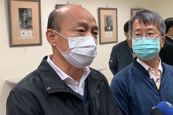 韓國瑜決定高雄停辦百人以上活動 眾網友點贊