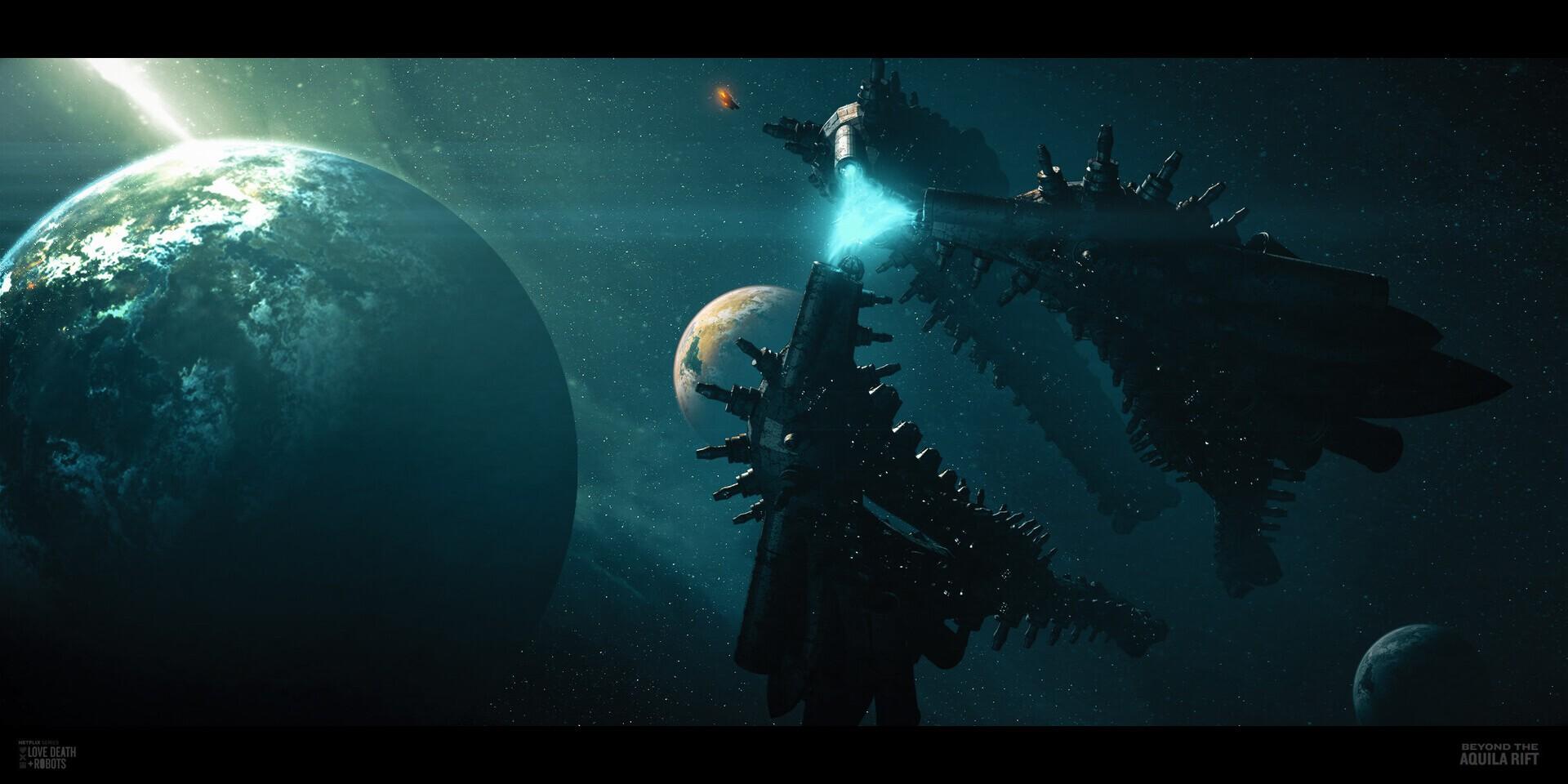 《愛,死亡和機器人》第7集概念圖 視覺效果震撼
