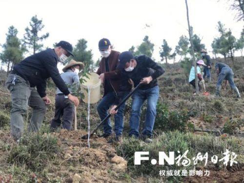 """""""绿满闽侯""""在行动 全县将植树造林53929亩"""