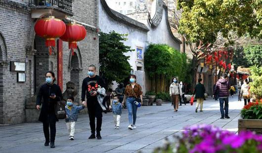 福州三坊七巷已于近日開放通行