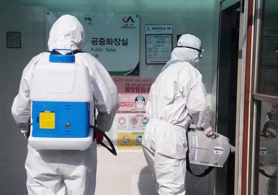 韩国新增169例新冠肺炎确诊病例 累计确诊1146例