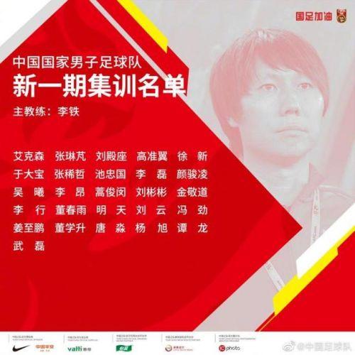 国足世预赛名单曝光都有谁?中国男足新一期集训完整名单