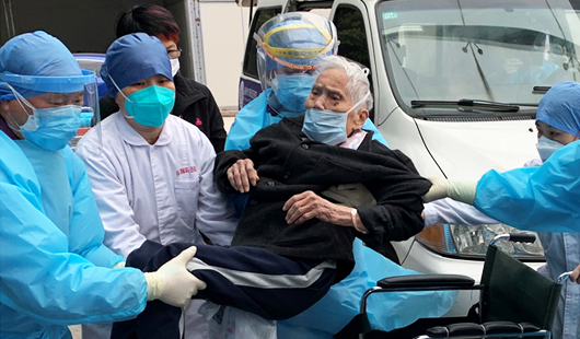 93岁!澳门皇冠注册官网省�z最高龄新冠肺炎患者治愈出院