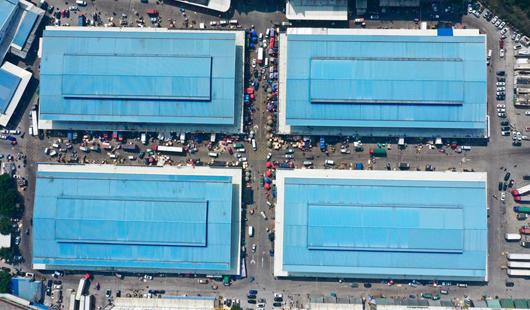 福州:批發市場嚴防疫情 保障民生物資供應