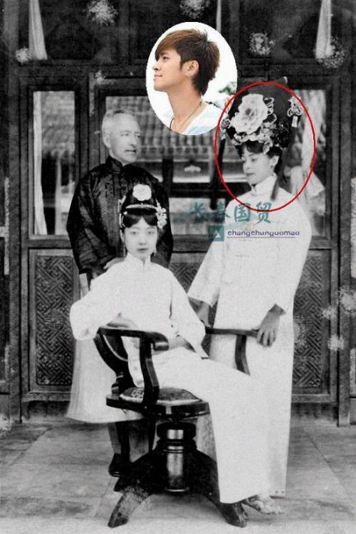 羅志祥撞臉清末皇后婉容英文老師怎么回事?婉容英文老師長什么樣圖片