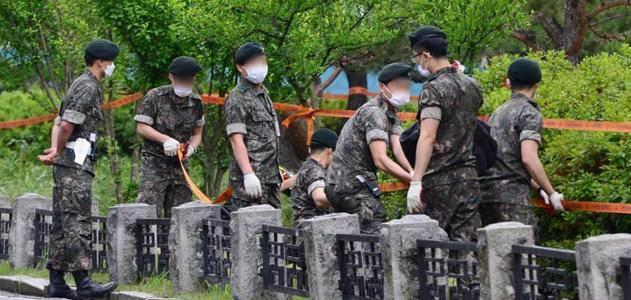 美国封锁驻韩基地