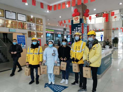 福建医护后援团 闽企为抗疫一线医护人员带去温暖和力量