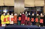 武漢客廳方艙醫院132人出院 福建隊10名隊員獲表彰
