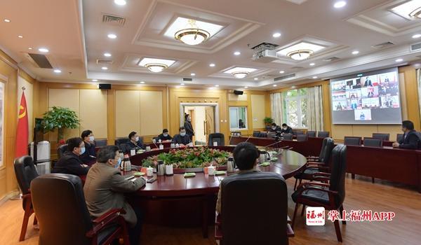 王寧視頻連線見證長樂區2020年第一批招商項目簽約