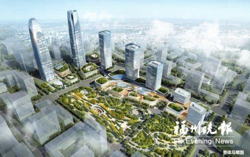 """签约348亿元!长乐招商""""开门红"""" 滨海新城打造250米高新地标"""