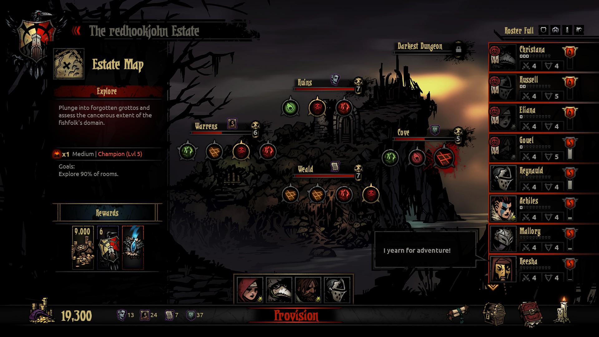 《暗黑地牢2》开发团队规模扩大 游戏开发顺利