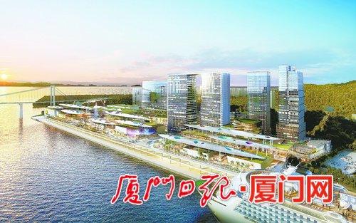 """省市重点项目厦门""""海上世界""""正式进入二期建设"""