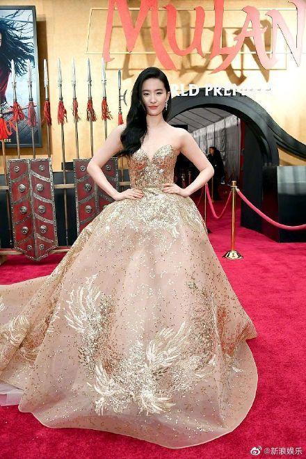 刘亦菲凤凰裙是什么样的 刘亦菲凤凰裙图片曝光网友直呼太美了吧