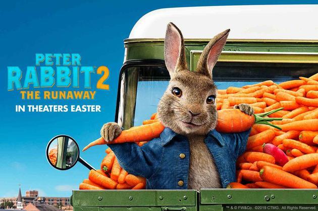 《比得兔2》海报