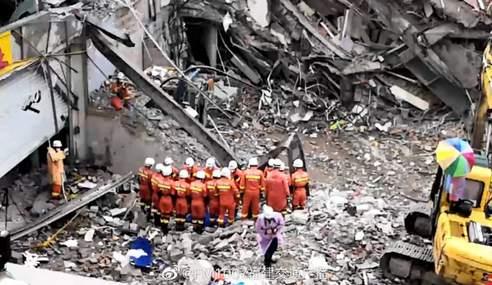 泉州欣佳酒店坍塌事故最后一名受困者找到,已無生命體征