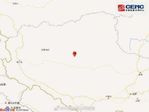 西藏阿里地區發生5.1級地震 震源深度10千米