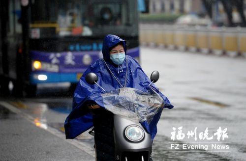 """福州兩天三夜連播""""無晴劇"""" 今日雨水減弱周末將放晴"""