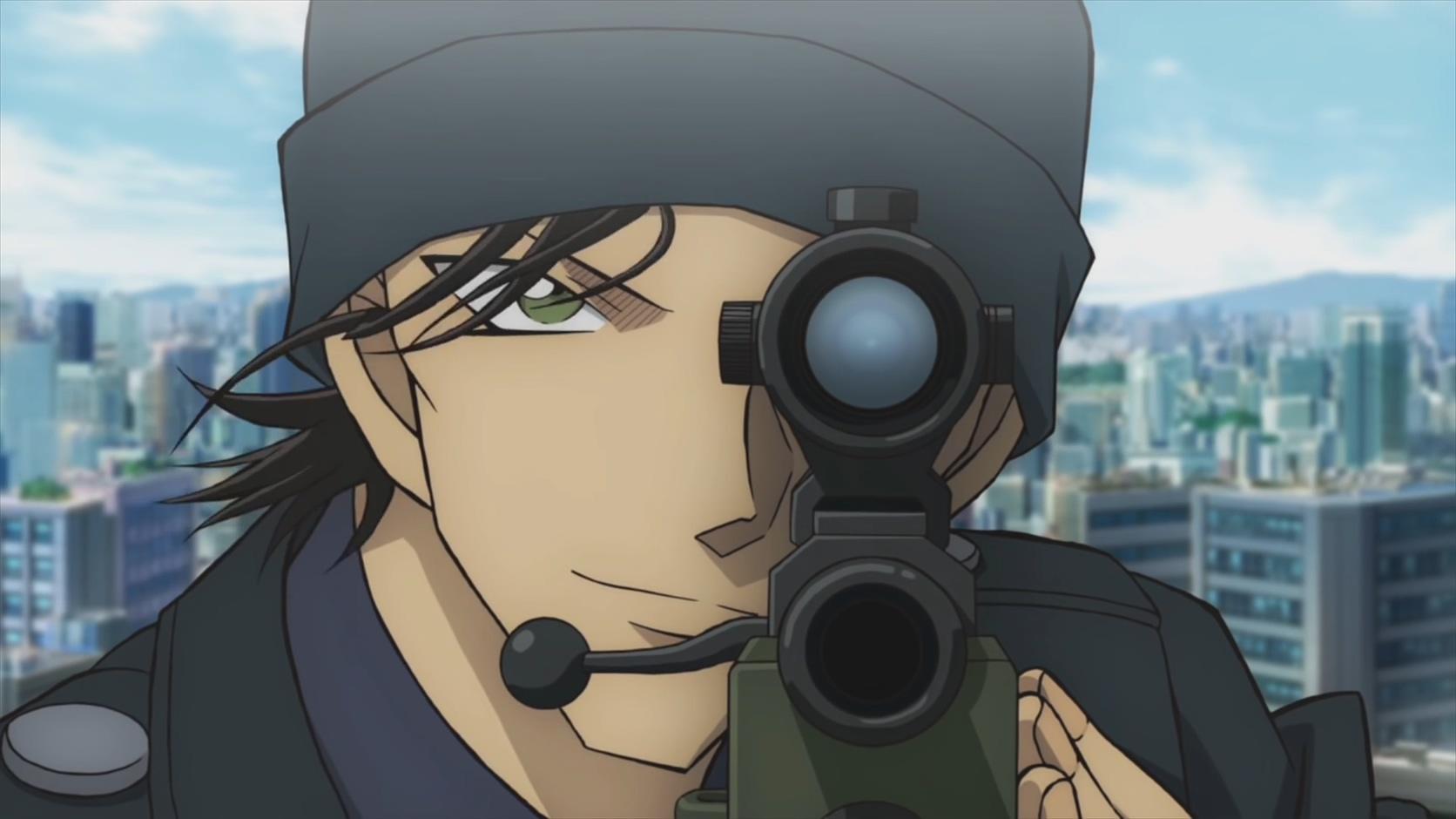 《名侦探柯南:绯色弹丸》赤井秀一眼神犀利