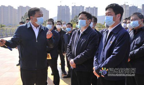 福州市領導赴福清調研龍江水系綜合治理工作