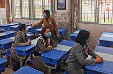福州举行学校防范新冠肺炎应急处置演练
