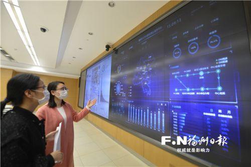 12345便民(惠企)服务平台。记者 池远 摄