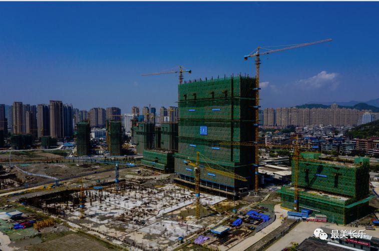 长乐区人民医院项目复工率达7成 计划2021年全面竣工
