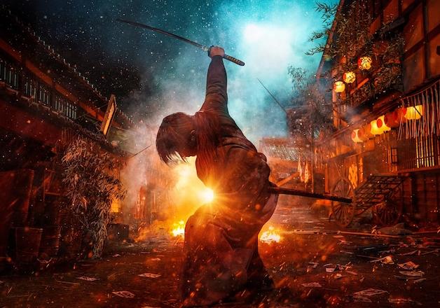 《浪客剑心:最终章》真人电影全员定妆海报公布