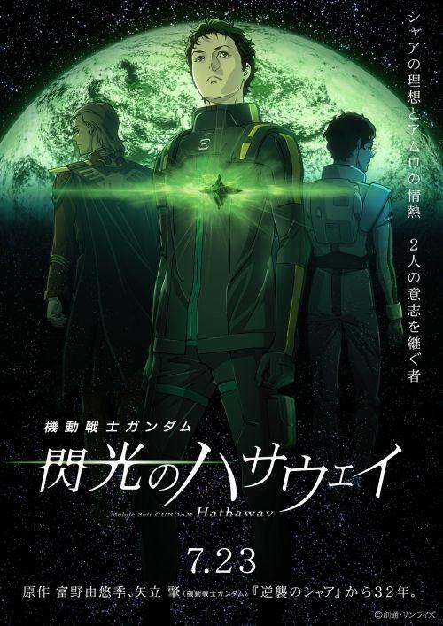 《機動戰士高達:閃光的哈薩維》新預告片公布