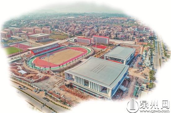 【世中運】晉江少體校主要比賽場館本月底完工