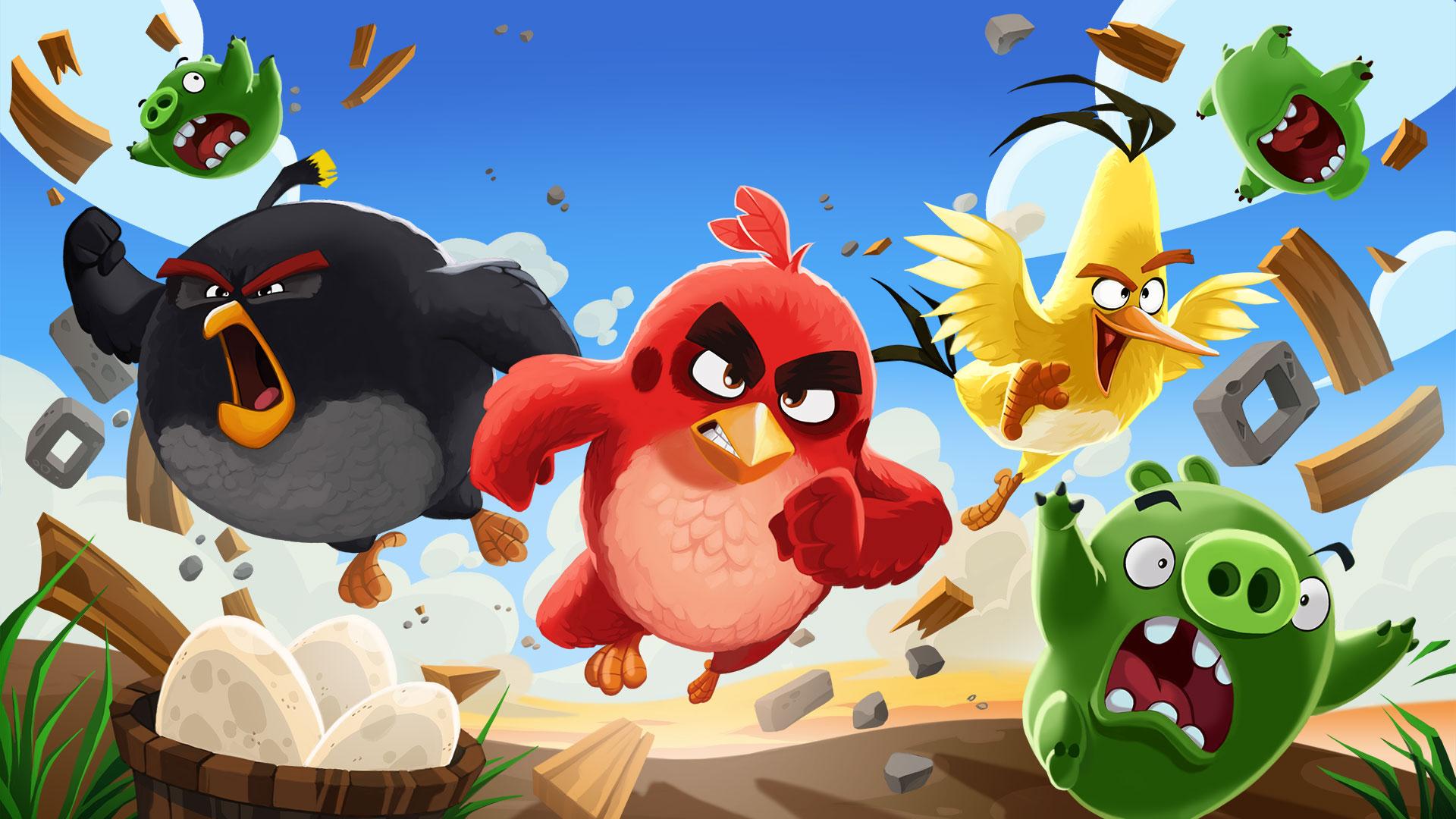 《愤怒的小鸟》将推出全新动画 2021年网飞播出
