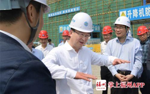王宁:滨海新城建设成效令人鼓舞催人奋进 继续举全市之力加快建设福州新城区