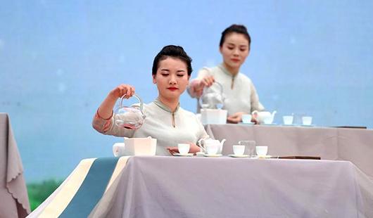 福建福鼎舉辦第九屆白茶開茶節