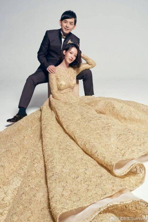 黃子佼孟耿如婚紗照曝光 黃子佼孟耿如婚禮延期到什么時候舉辦