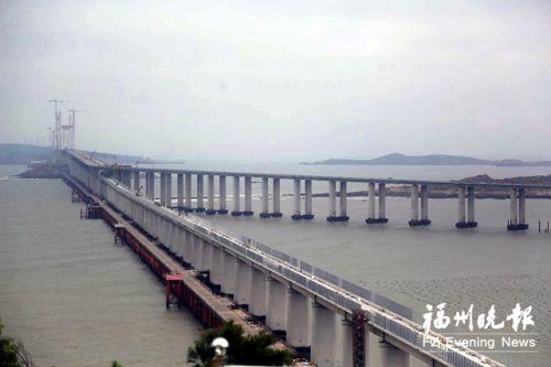 """平潭海峡公铁两用大桥获殊荣 入选""""中国十大海洋科技进展"""""""