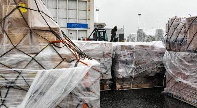 中国物资抵达纽约 中国援助美国什么物资数量多少?