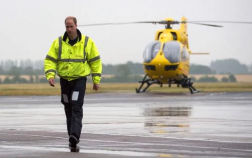 威廉王子欲赴英國一線抗疫:重操舊業 開救護直升機