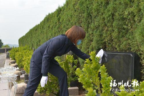 福州市殡葬协会倡导文明祭扫 确保清明祭扫有序进行