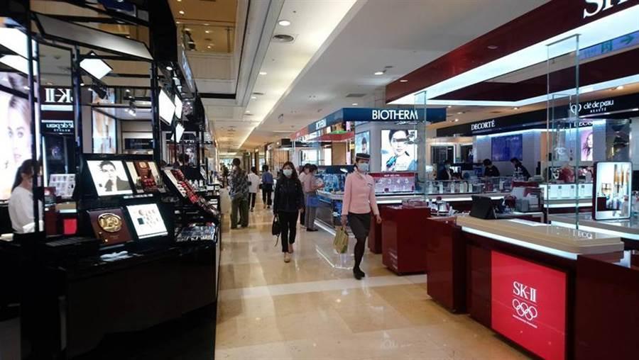 台湾台中市百货业今年首季业绩普遍下滑