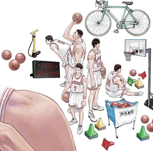 《灌篮高手》新画集即将发售 井上雄彦14幅全新画作收藏其中