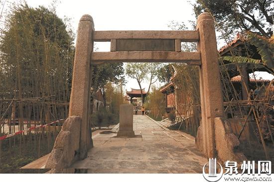 泉州旧八景之首复建一期完工 小山丛竹昔日胜景再现
