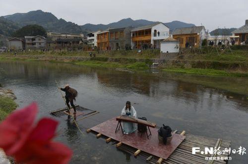 永泰月洲村。 记者 池远 摄