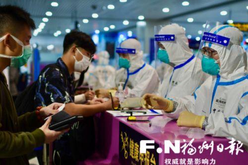 福州海关:严防境外输入 守护国门第一道防线