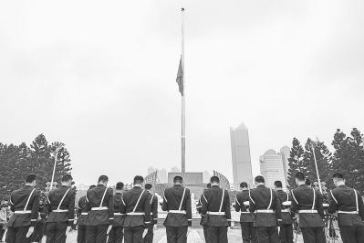 哀思中,凝聚起慨然奮進的力量——福建干部群眾悼念新冠肺炎疫情犧牲烈士和逝世同胞側記