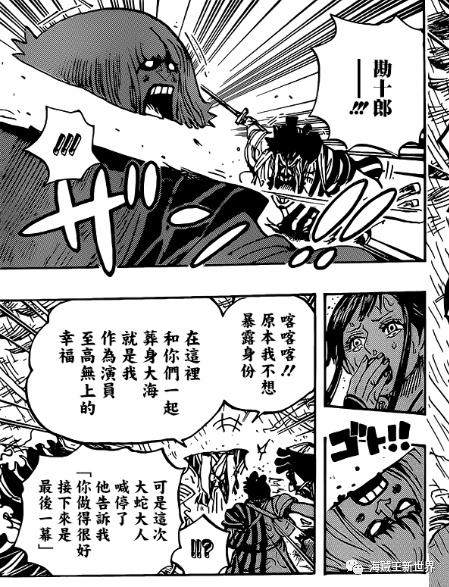 海贼王976话专题鼠绘汉化 第9同伴登场,成为四主力之一