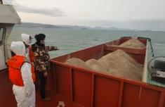福州海警局一季度查扣问题海砂7万吨