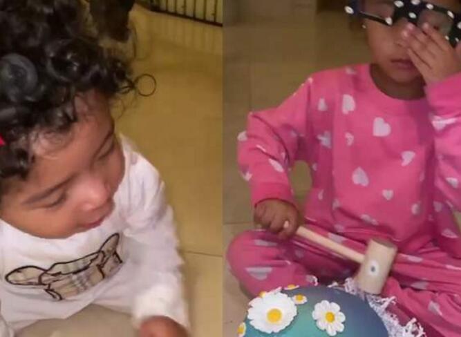 瓦妮莎陪女儿温馨砸彩蛋 科比遗体图片被公然新闻先容