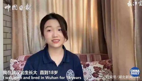 清华武汉籍女生英文演讲说了什么视频在线看 张睿茹个人资料照片