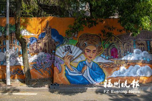 用街头艺术扮靓文化街区 毛毛:涂鸦可让街道拒绝平庸